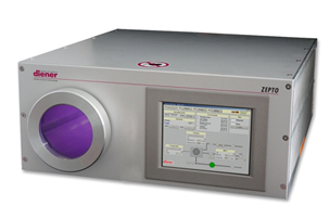 Equipo de plasma en baja presion controlado por pantalla tactil