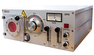 Equipo de plasma radiofrecuencia con control automatico y dos controles de gas y 200W