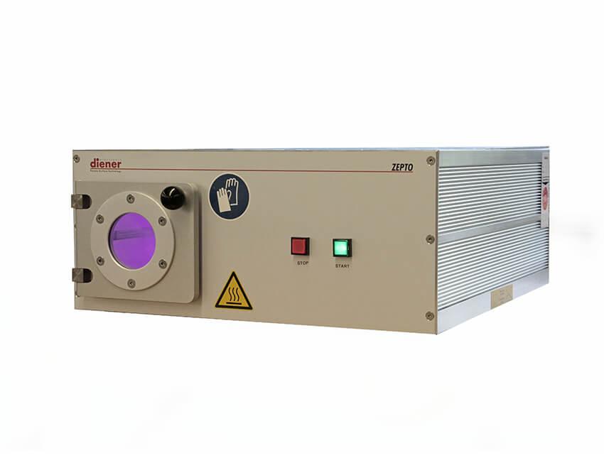 Equipo de plasma radiofrecuencia con control por PC externo